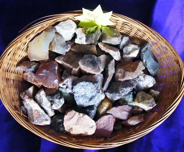 lucky dip rough minerals