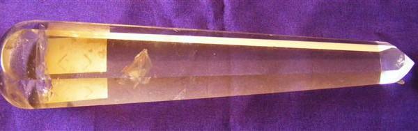 AA clear quartz wand
