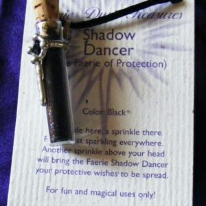 shadow faerie protection pendant
