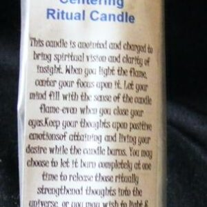candles centring