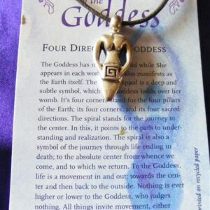 four goddess pendant