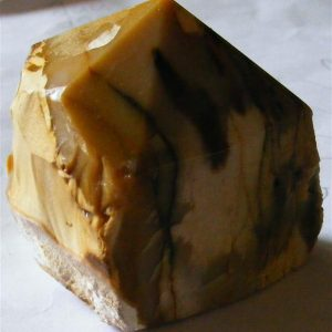 mookaite part polished point